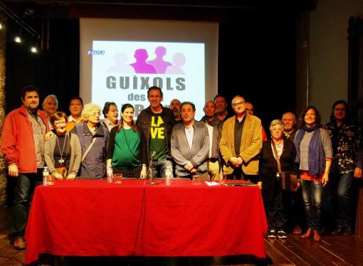 Presentada la nova candidatura d'esquerres de Sant Feliu de Guíxols