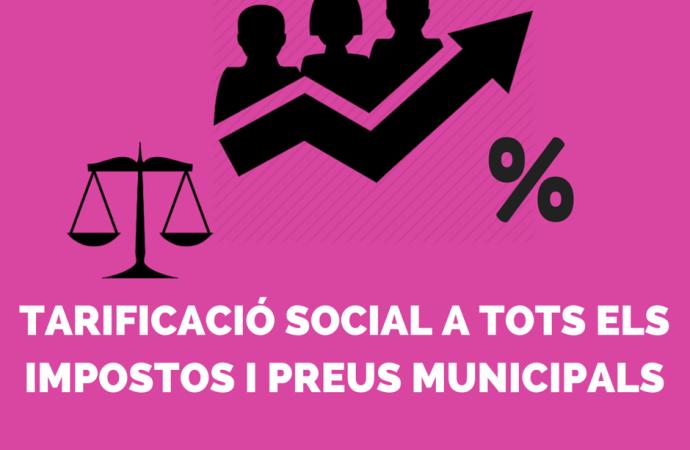 La tarificació social