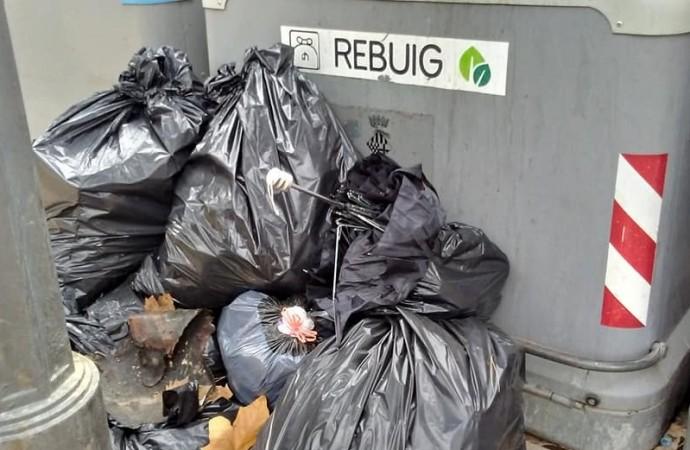 Sant Feliu de Guíxols genera més residus i recicla menys que un any enrere