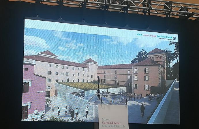 Presentat el nou Museu Carmen Thyssen